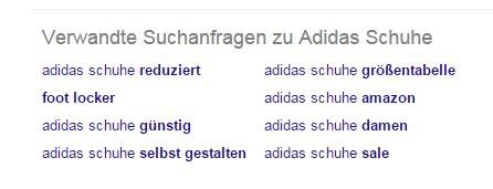Keywordrecherche mit Google Suggest für Google AdWords Kampagnen