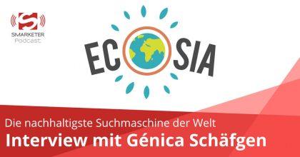 Ecosia – Interview mit Génica Schäfgen